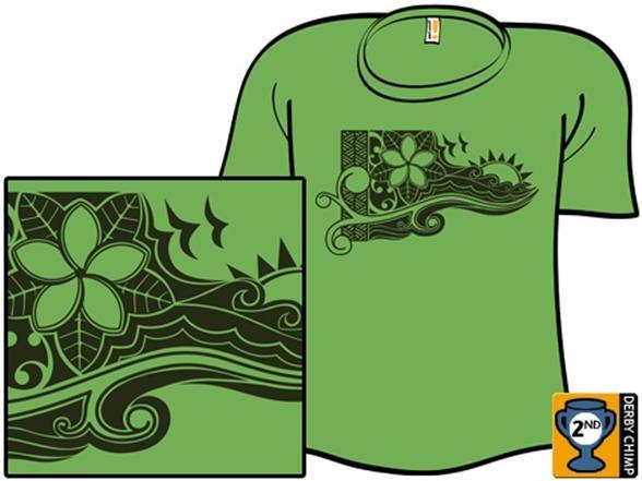 Plumeria Paradise T Shirt