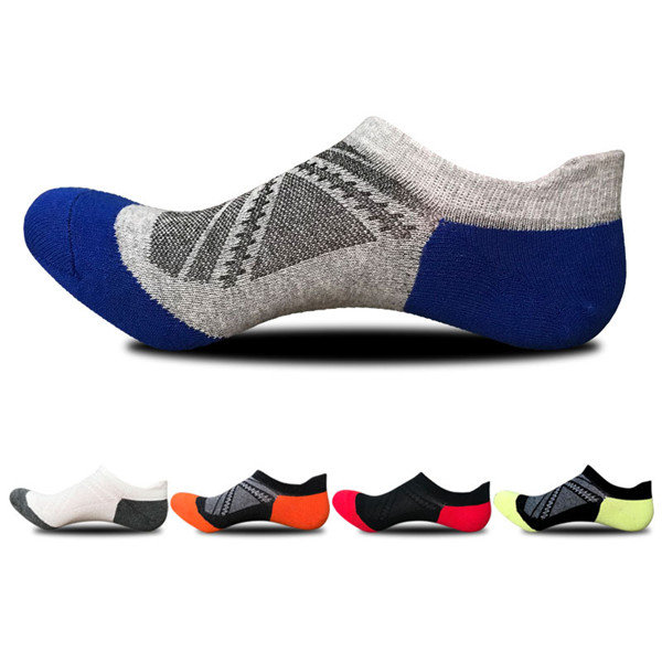 Men Women Summer Thin Mesh Breathable Cotton Ankle Socks Sweat Dry Boat Socks