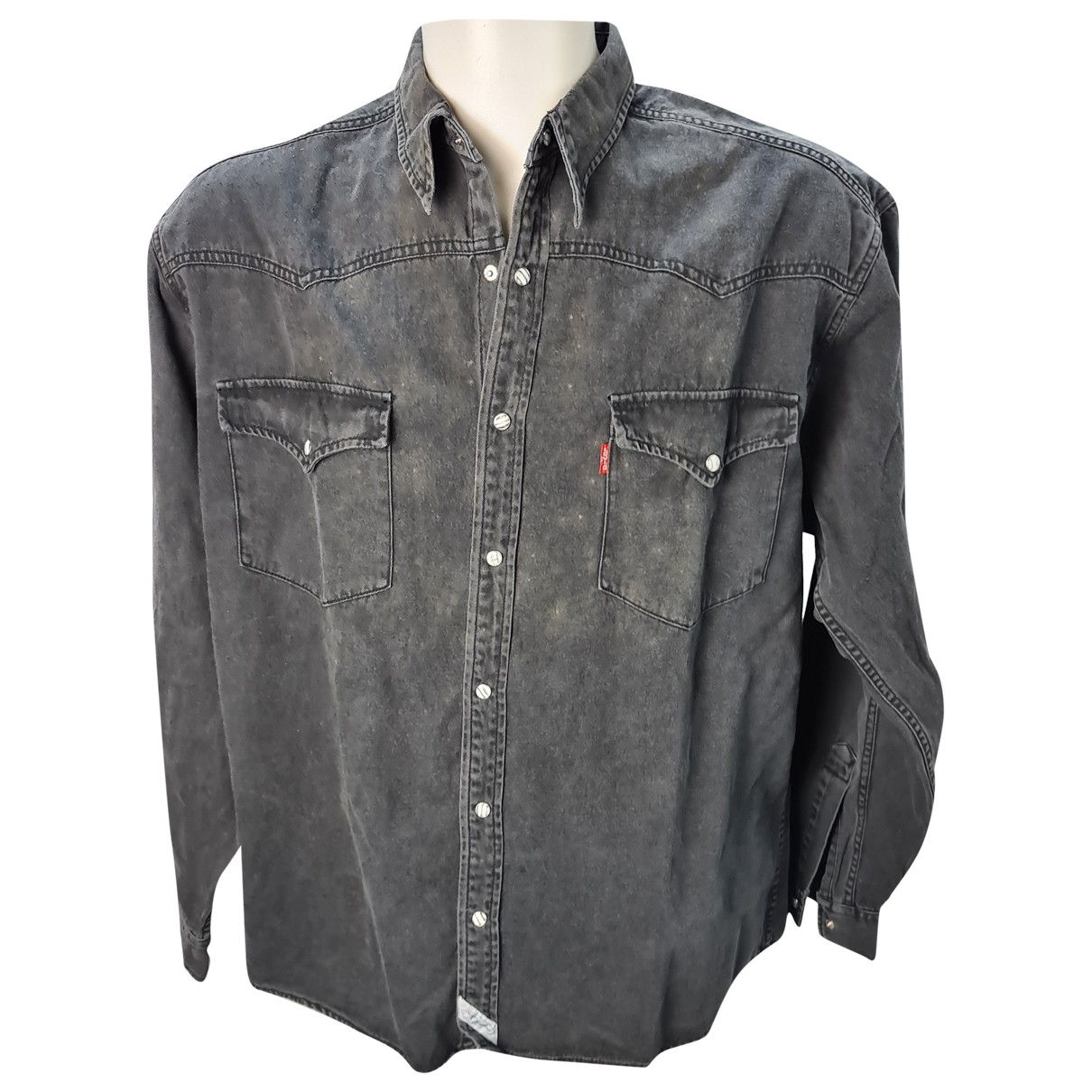 Levi's \N Black Cotton Shirts for Men L International
