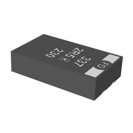 KEMET Tantalum Capacitor 68μF 16V dc Electrolytic Solid ±20% Tolerance , T523 (1000)