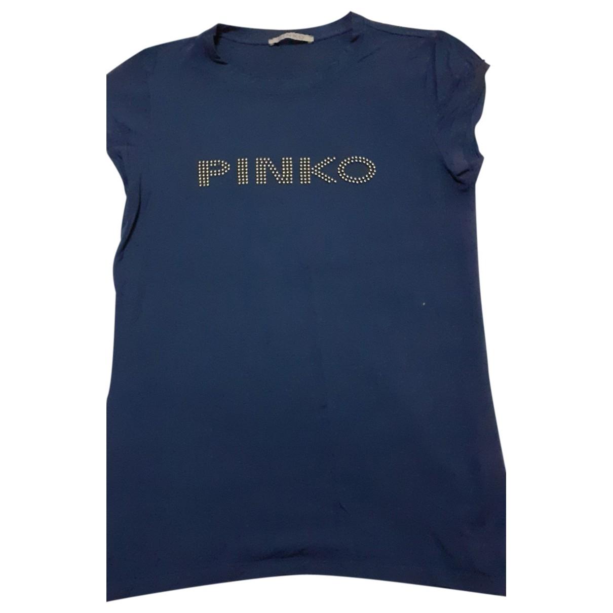 Pinko \N Blue Cotton Knitwear for Women 46 FR