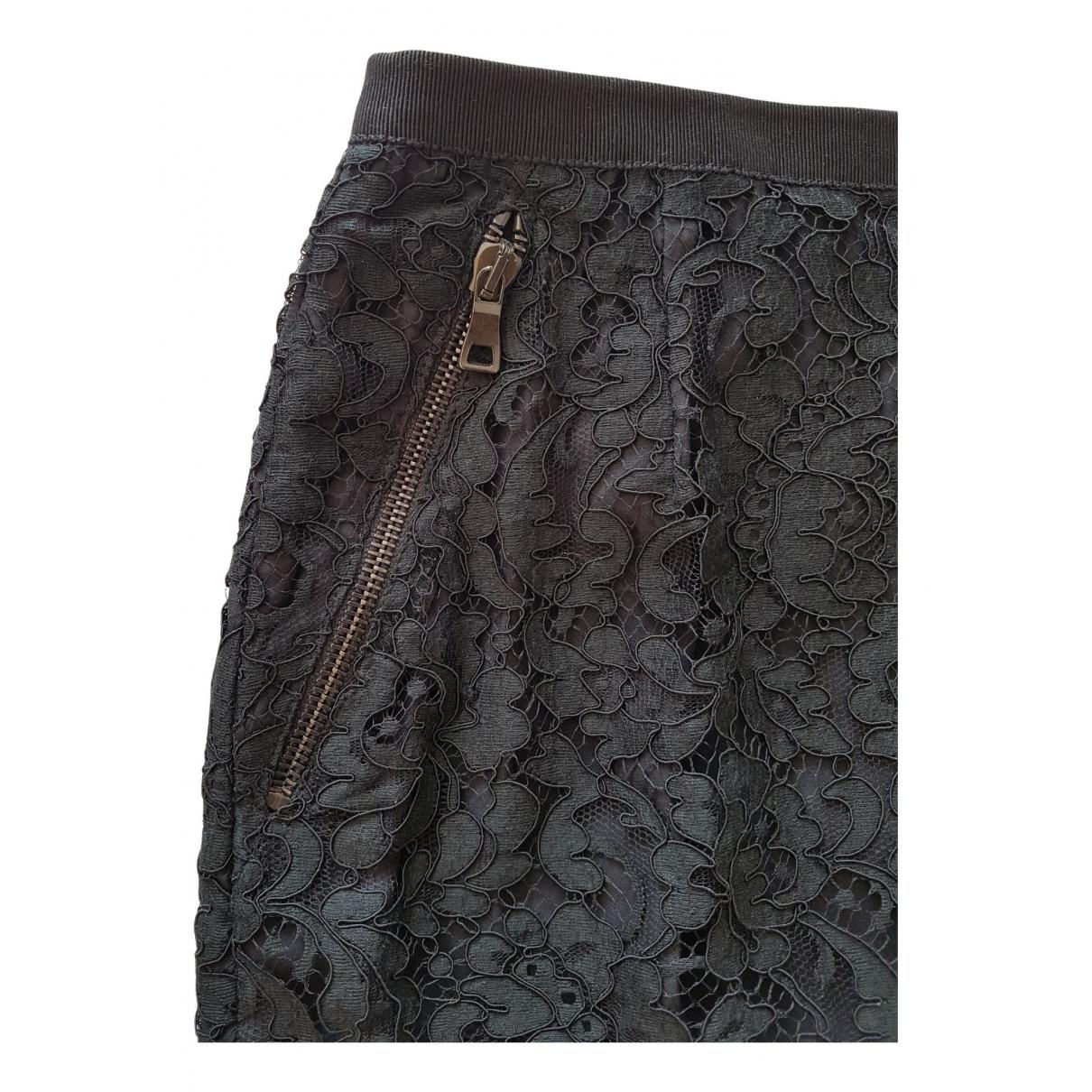 Paul & Joe - Jupe   pour femme en coton - noir