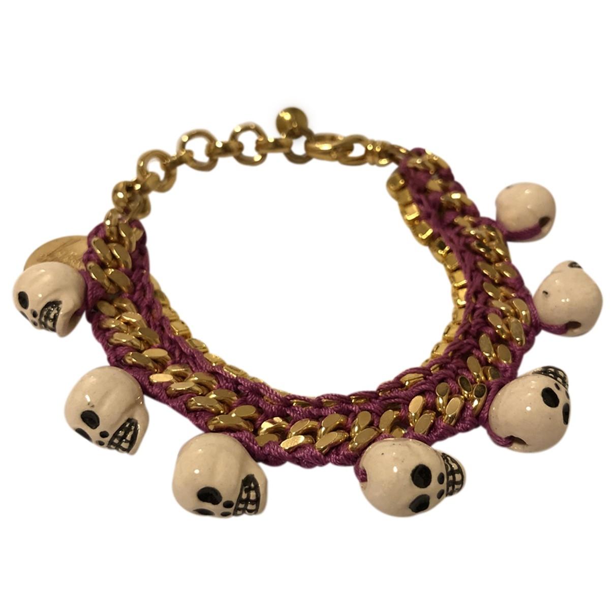 Venessa Arizaga \N Purple Metal bracelet for Women \N