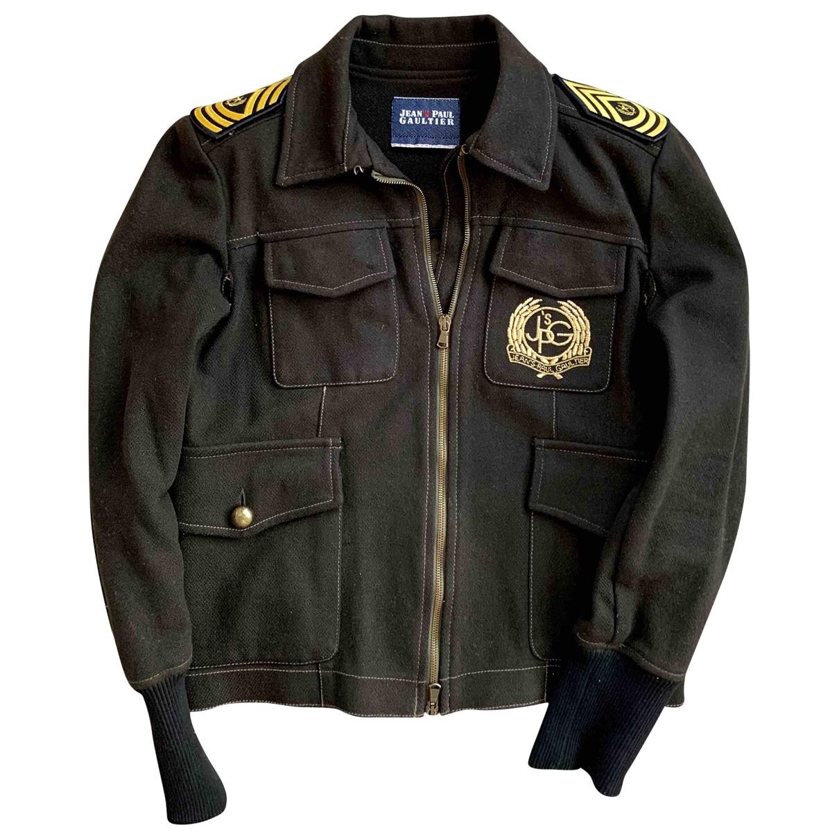 Jean Paul Gaultier \N Green Wool jacket for Women M International