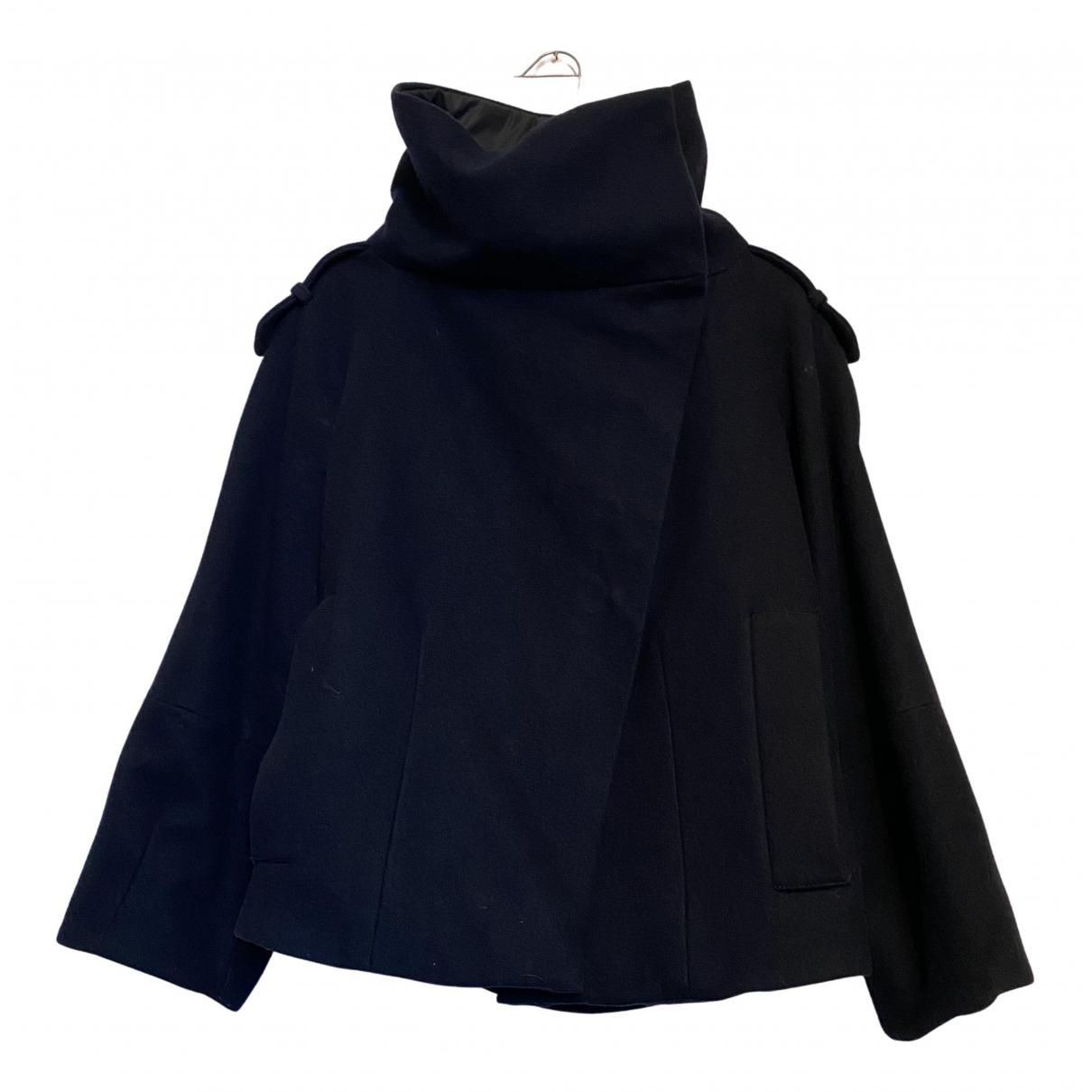 Zara N Blue Wool jacket for Women XS International