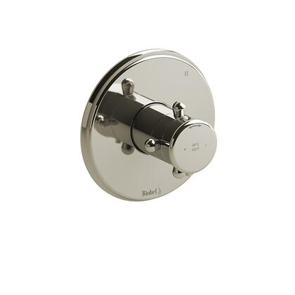 GN45PN 3-Way Type Thermostatic/Pressure Balance Coaxial Complete Valve  in Polished