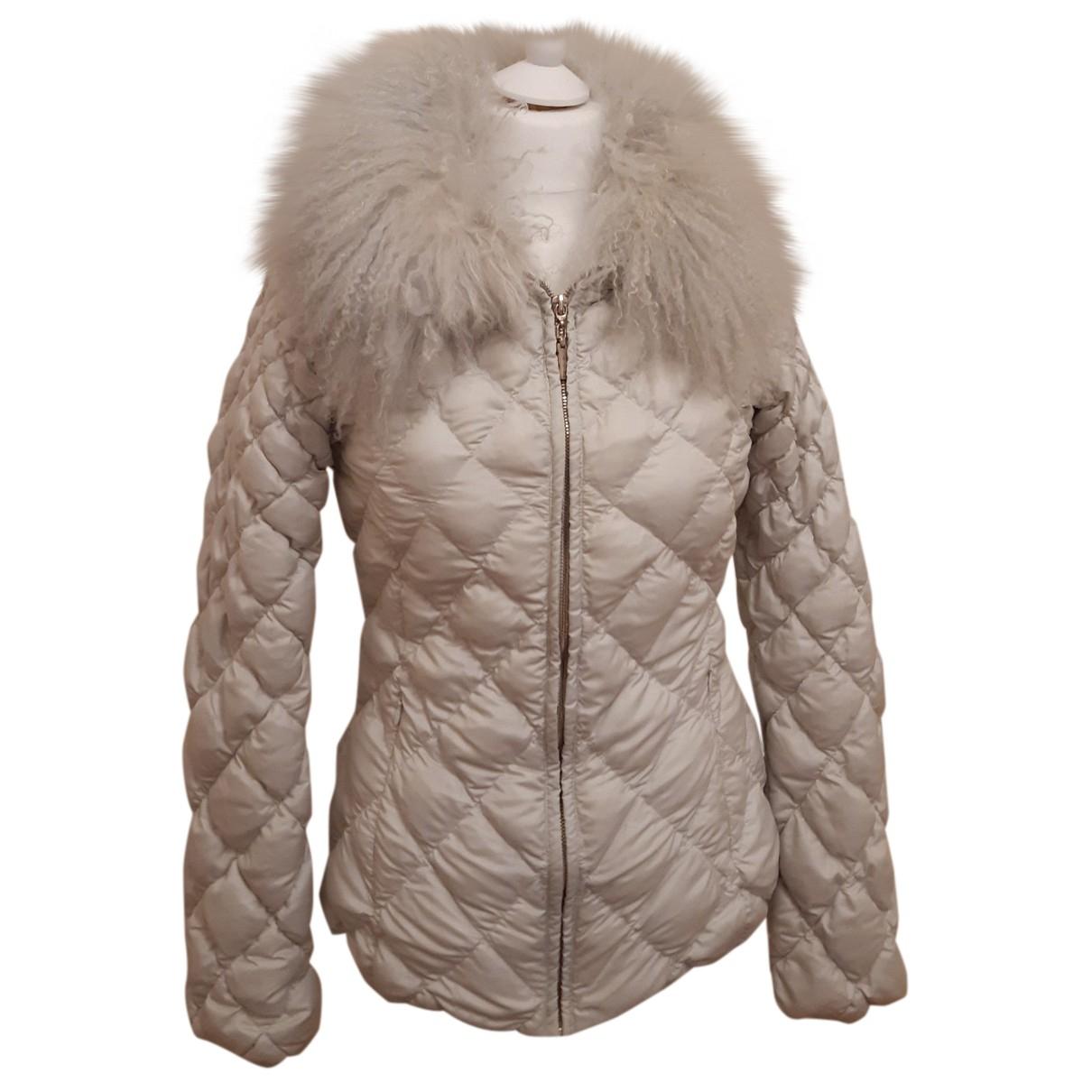 Trussardi Jeans N Grey jacket for Women 40 IT