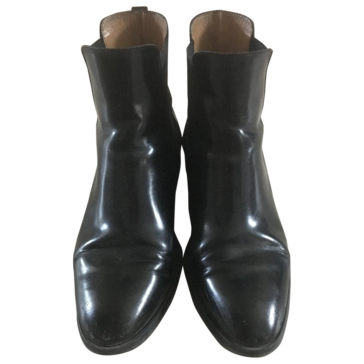 Cos \N Black Patent leather Boots for Women 38 EU