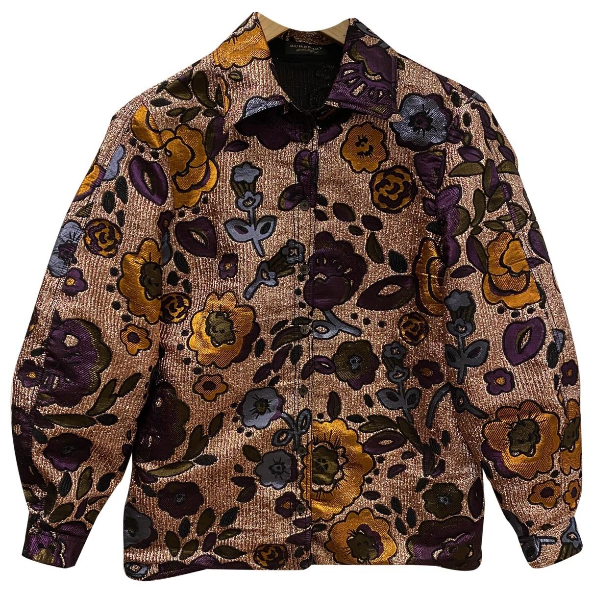 Burberry - Top   pour femme - multicolore