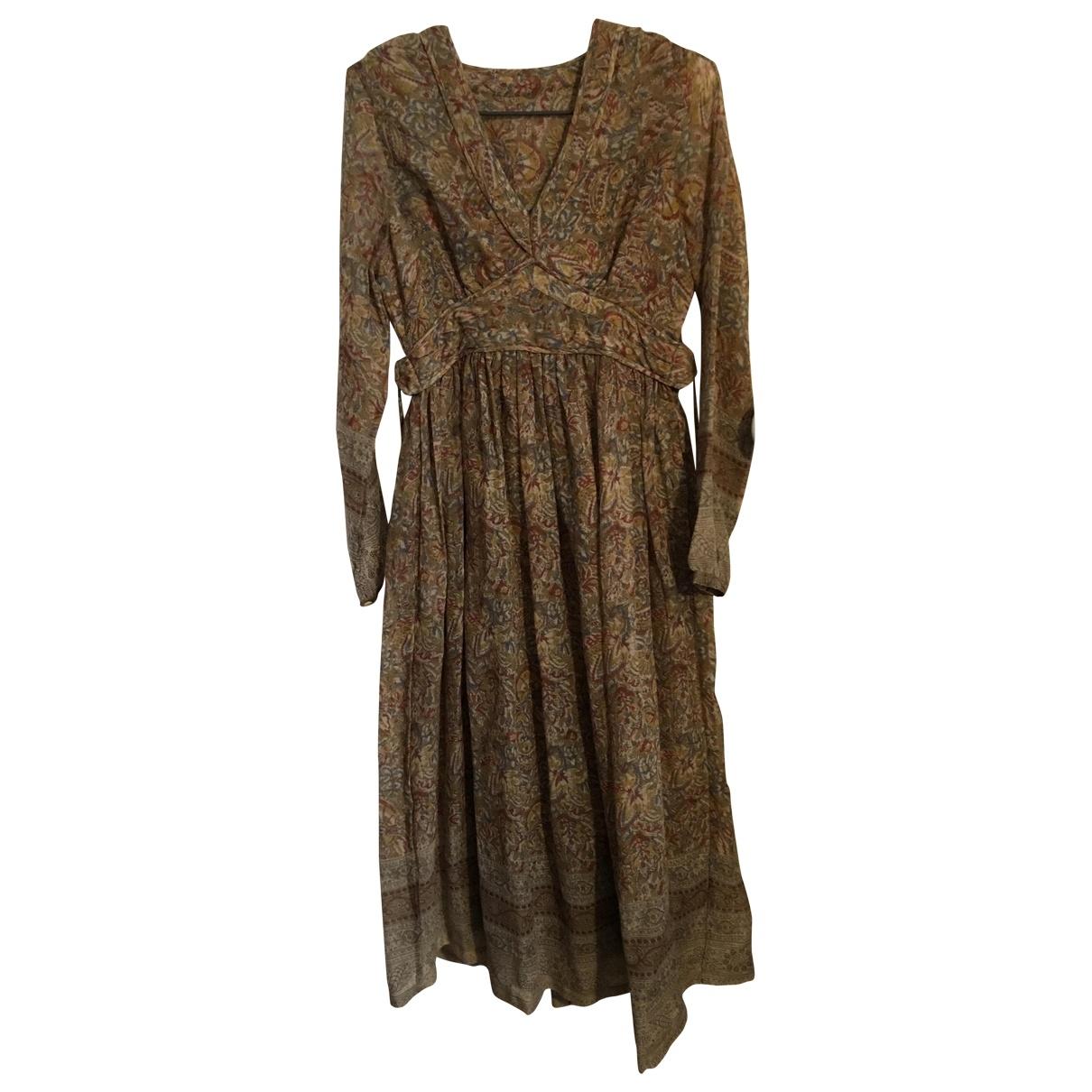 Laurence Dolige \N Multicolour Wool dress for Women 36 FR