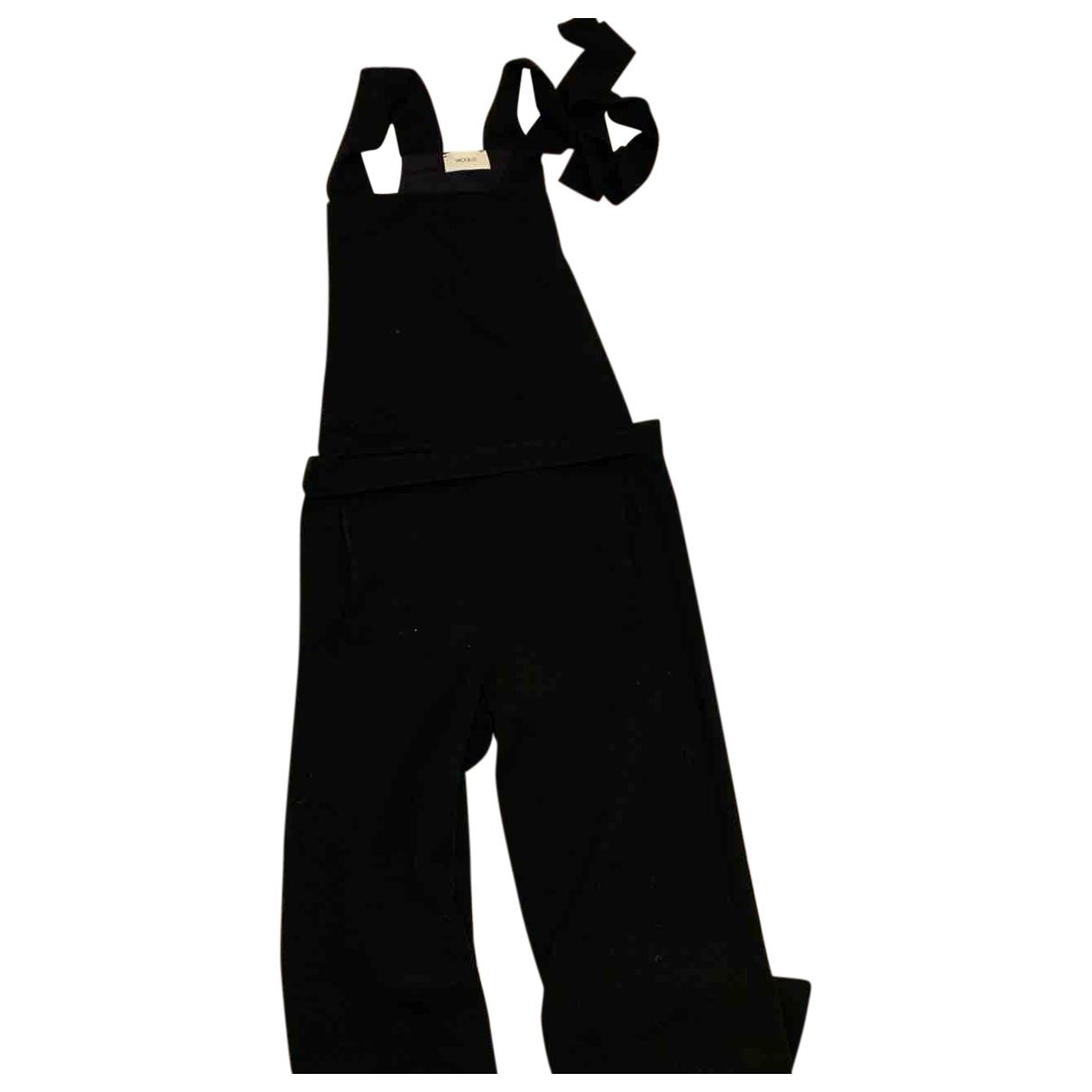 Vicolo - Combinaison   pour femme en cuir - noir