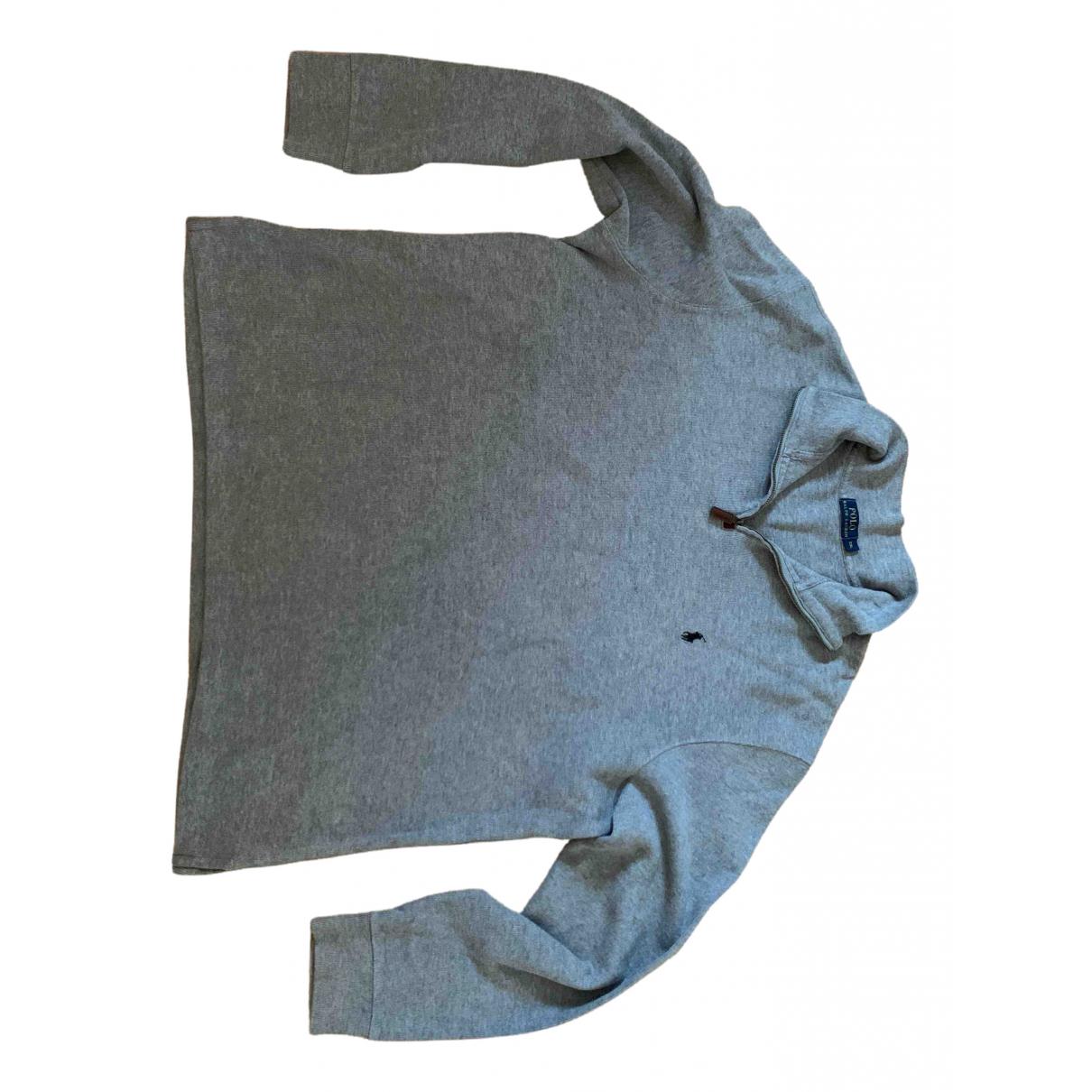 Polo Ralph Lauren \N Grey Cotton Knitwear & Sweatshirts for Men XXL International