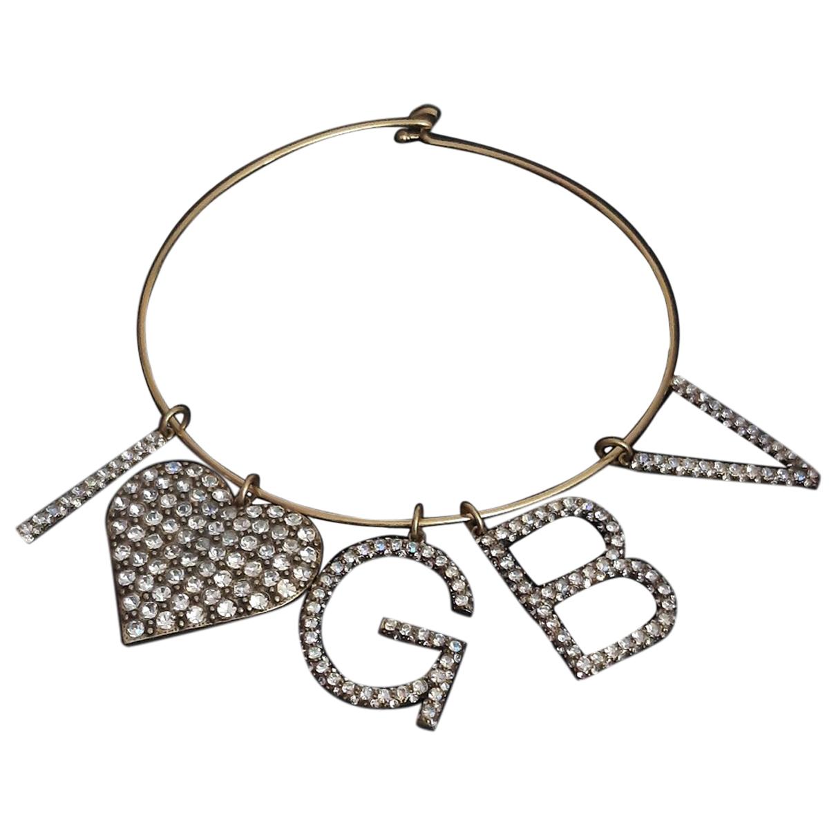 Giambattista Valli X H&m N Gold Metal necklace for Women N