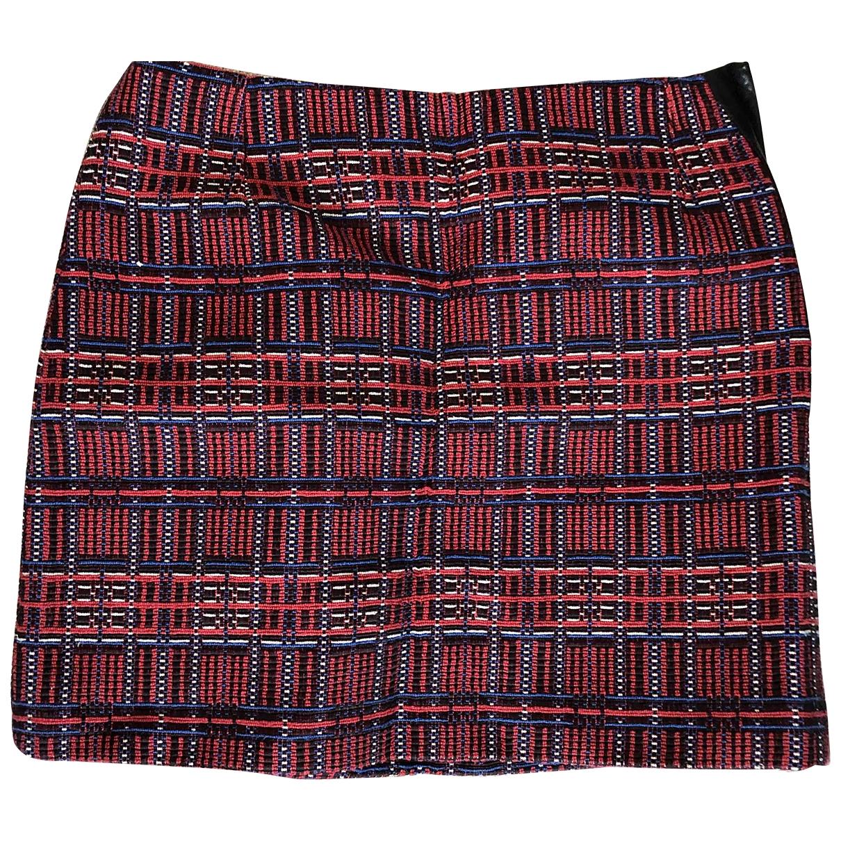 Claudie Pierlot \N Multicolour Cotton skirt for Women 36 FR