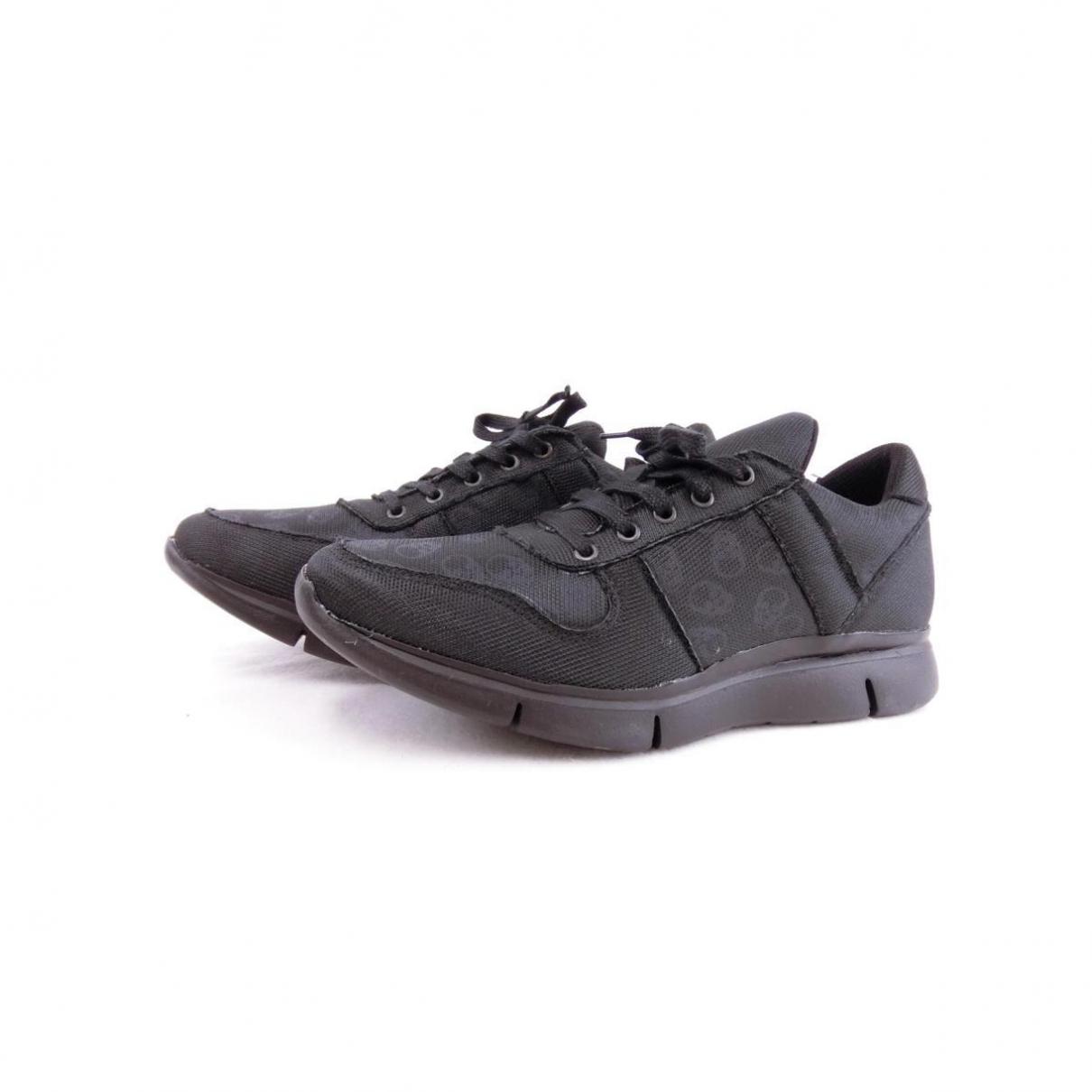 Lucien Pellat Finet \N Sneakers in  Schwarz Leder