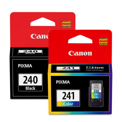 Canon PG-240 CL-241 Original Ink Cartridges Combo