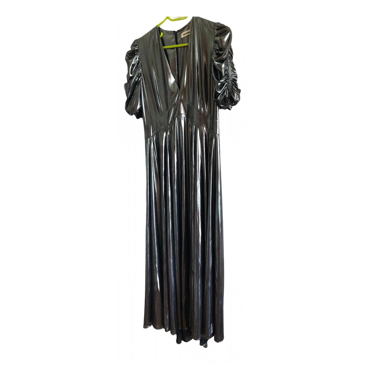Zadig & Voltaire Spring Summer 2020 Kleid in  Silber Polyester