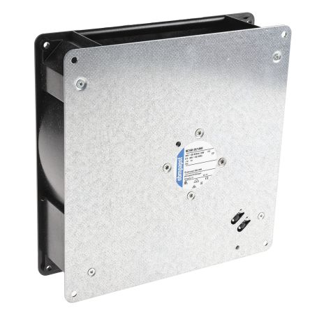 ebm-papst Centrifugal Fan 220 x 220 x 56mm, 209m³/h, 24 V dc DC (RG160 Series)