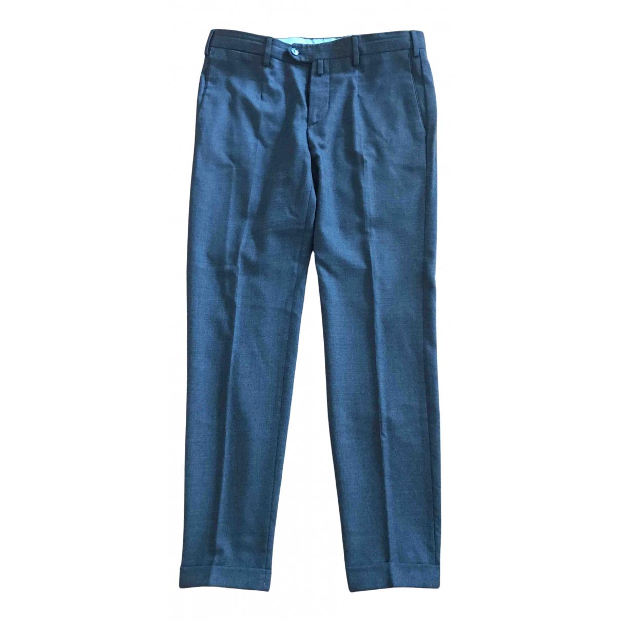 Boggi - Pantalon   pour homme en coton - gris