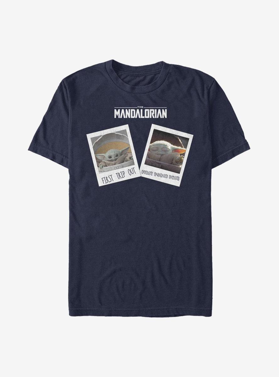 Star Wars The Mandalorian The Child Travel Pics T-Shirt