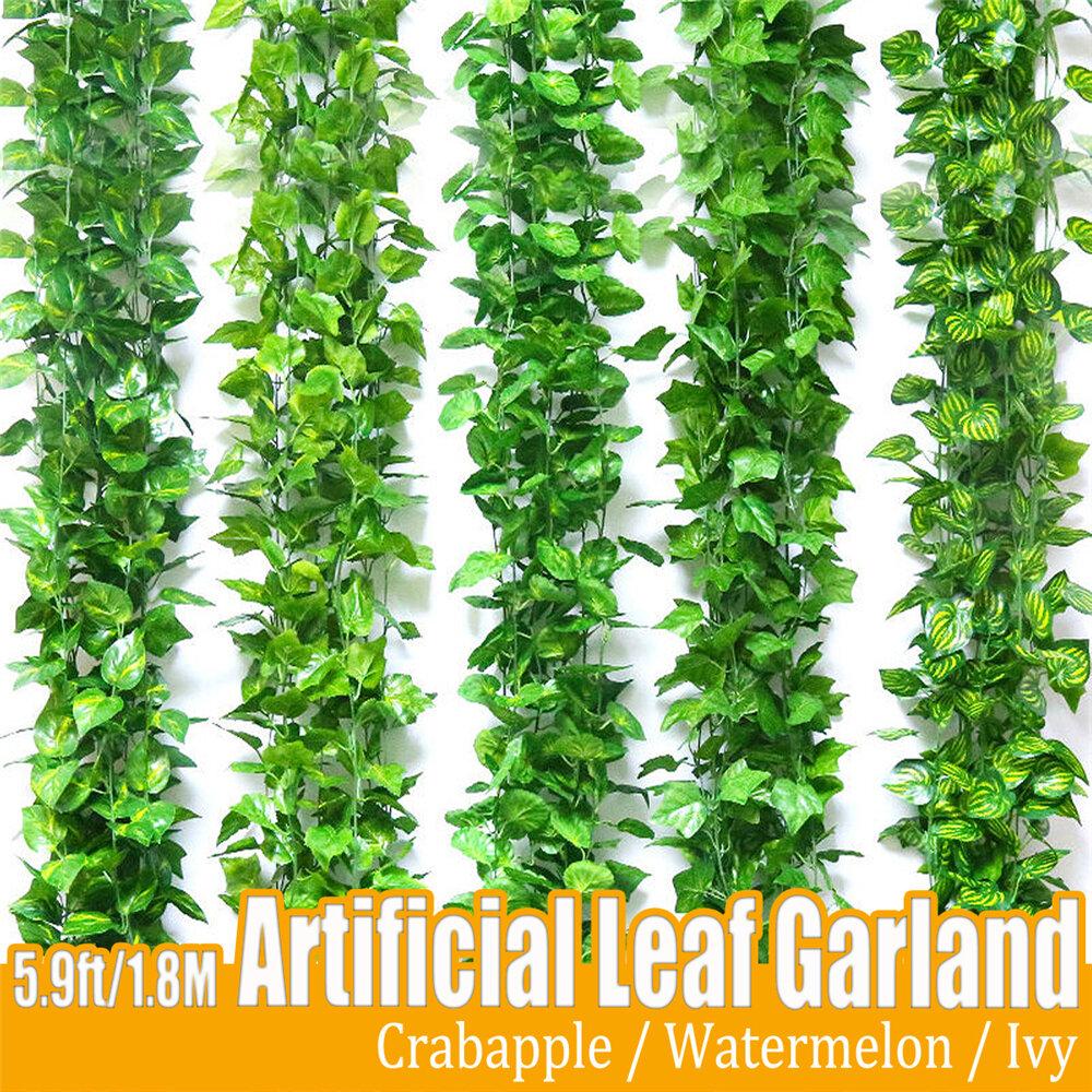 180cm Best Artificial Lvy Trailing Garland Vine Plant Garden Wedding