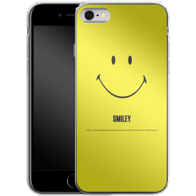 Apple iPhone 6s Silikon Handyhuelle - Smiley All Over von Smiley®
