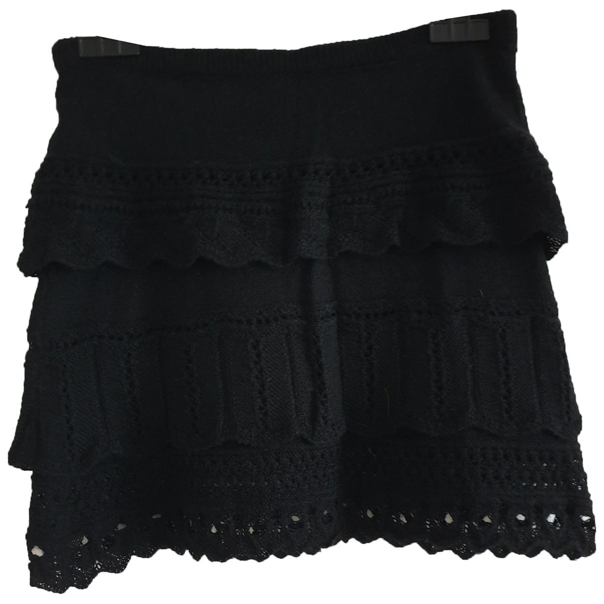 Joseph \N Black Cashmere skirt for Women 36 FR