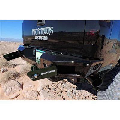 Addictive Desert Designs HoneyBadger Rear Bumper (Black) - R347201280103