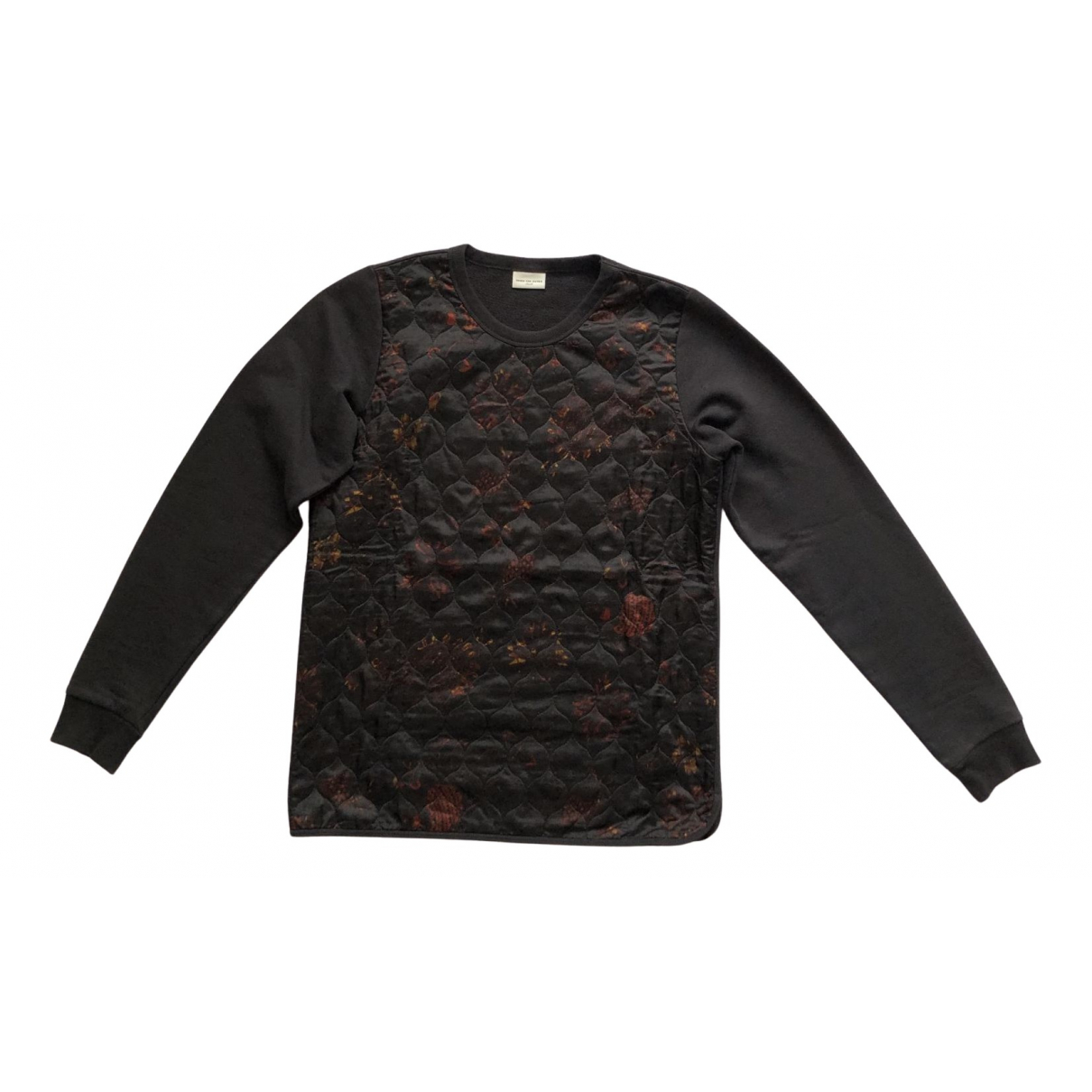 Dries Van Noten N Black Cotton Knitwear & Sweatshirts for Men S International