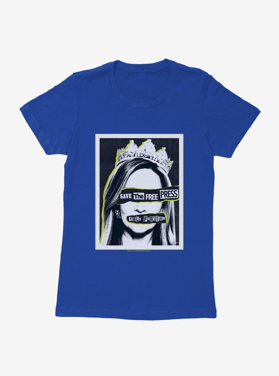 Full Frontal With Samantha Bee Save The Free Press Womens T-Shirt