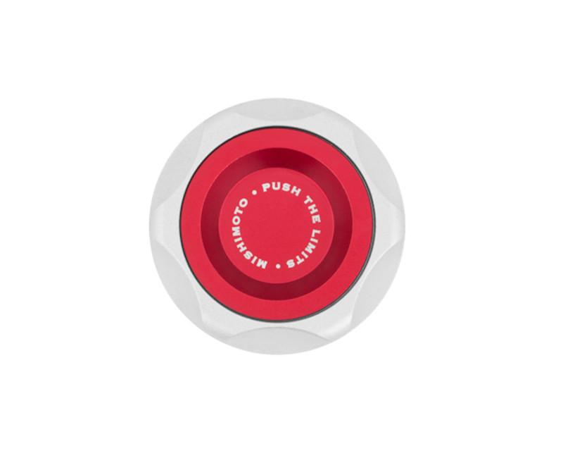 Mishimoto MMOFC-SUB-RD Red Oil Filler Cap Subaru Baja 03-06