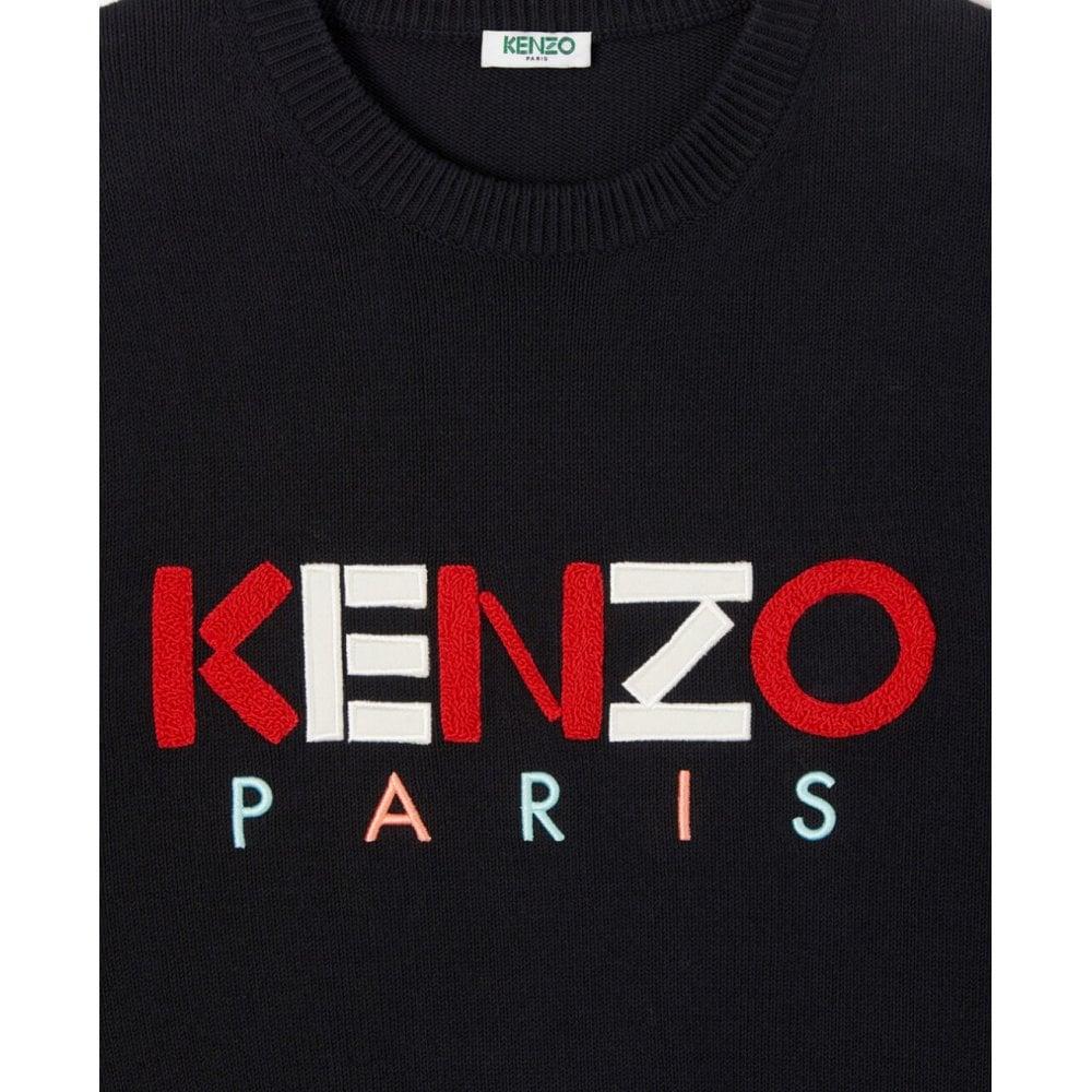 Kenzo Paris Wool Jumper Colour: BLACK, Size: MEDIUM