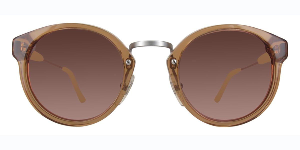 Retrosuperfuture Panamas 578 Women's Sunglasses Brown Size 47