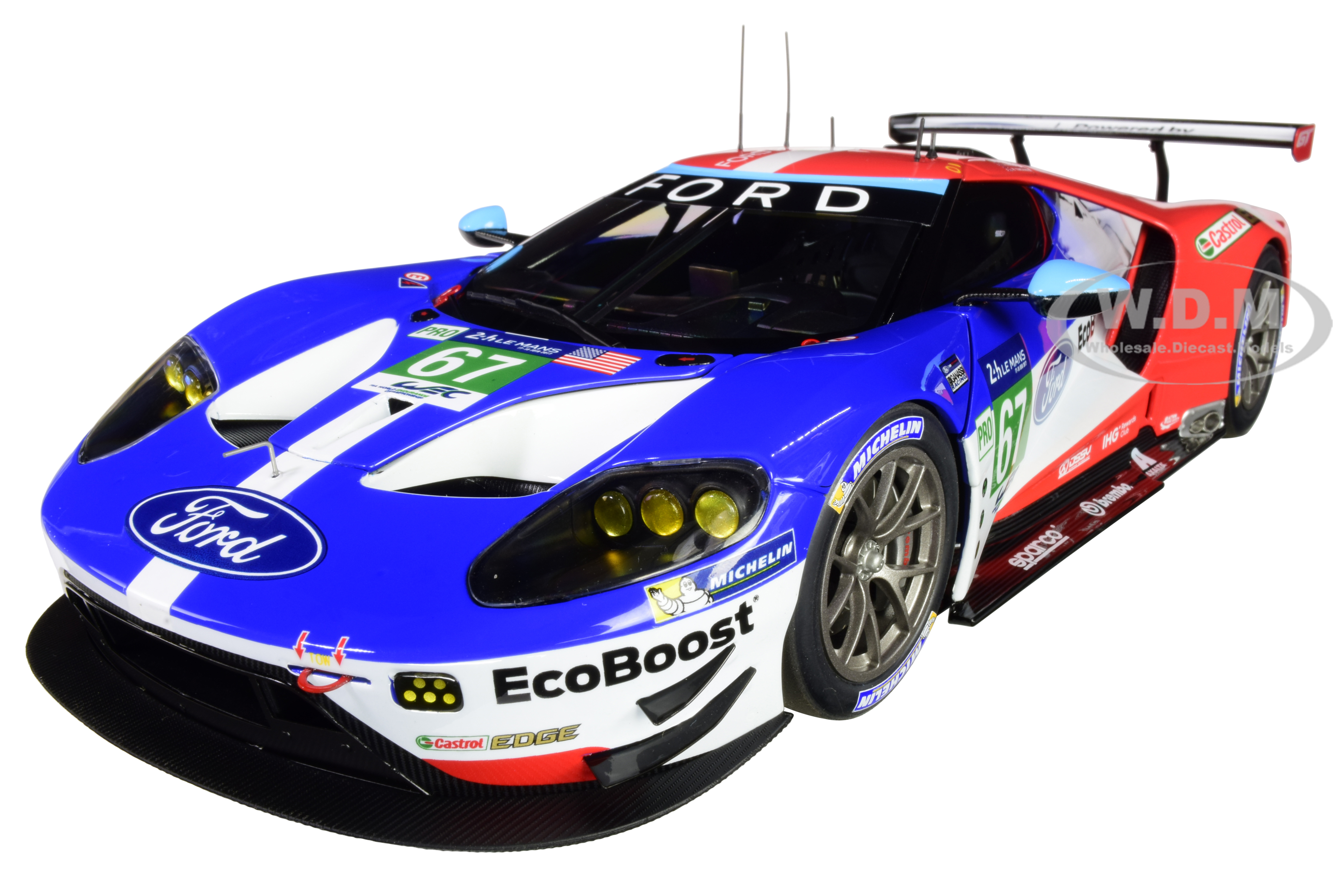 Ford GT 67 Harry Tincknell - Andy Priaulx - Pipo Derani