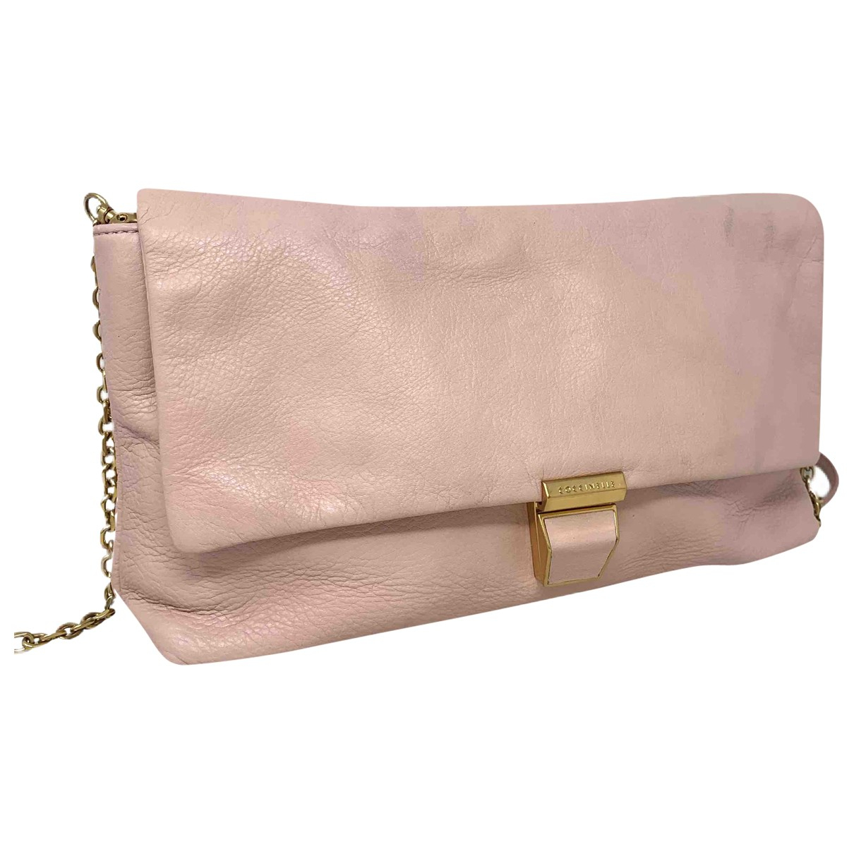 Coccinelle \N Pink Leather handbag for Women \N