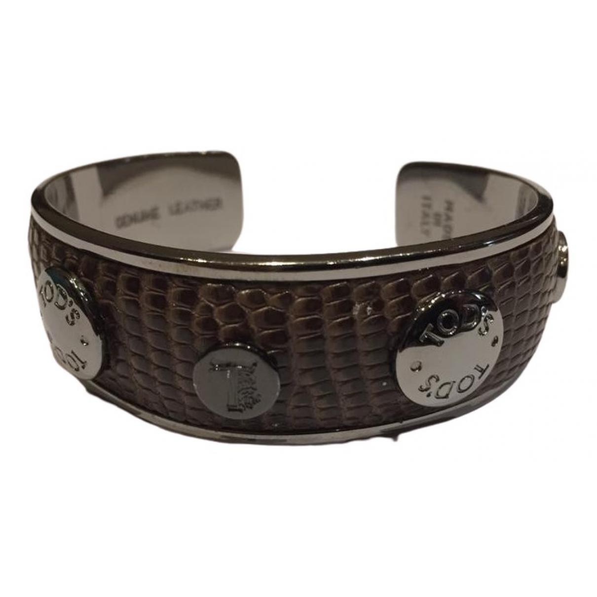 Tods - Bracelet   pour femme en metal - marron