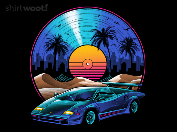 Retro Vinyl Soundtrack T Shirt