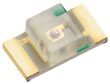 Kingbright 2.5 V Green LED 3216 (1206) SMD,  KPTR-3216CGCK (50)