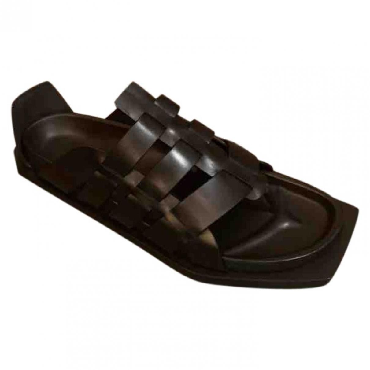 Sandalias de Cuero Rick Owens
