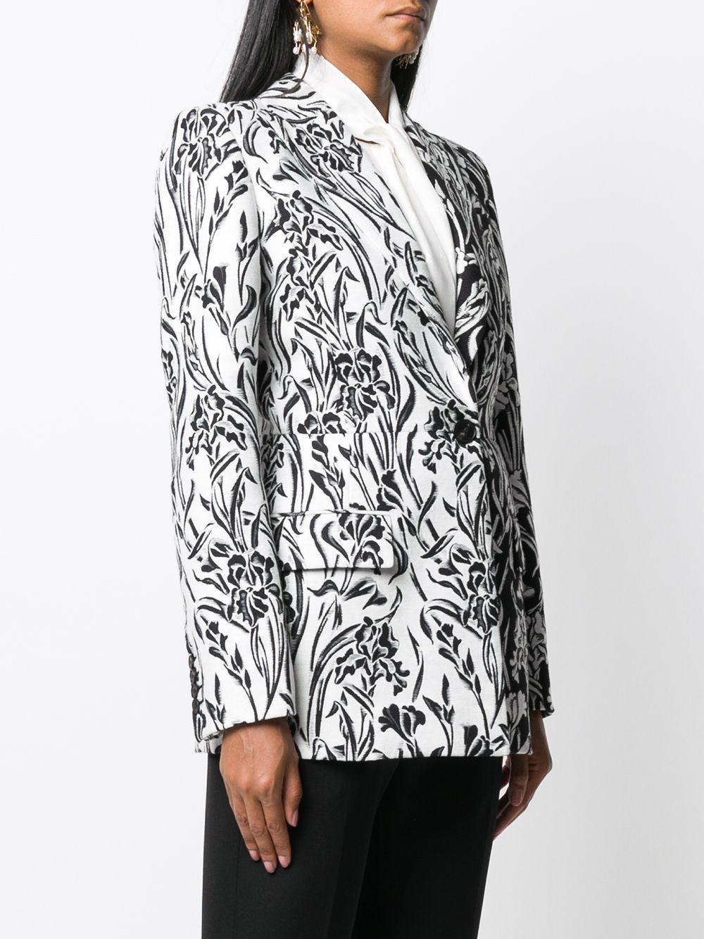 Flowers Print Jacket