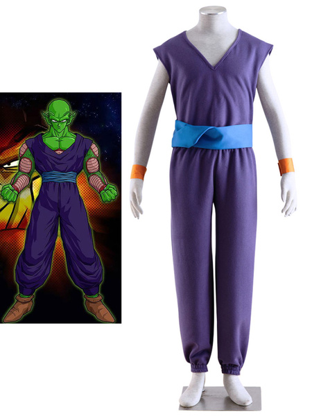Milanoo Dragon Ball Bick Archenemy Halloween Cosplay Costume  Halloween