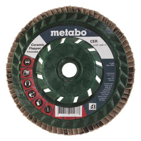 Metabo 4 1/2 In. Ceramic Flapper 60 5/8 In.-11 T29 Trimmable (Pb)