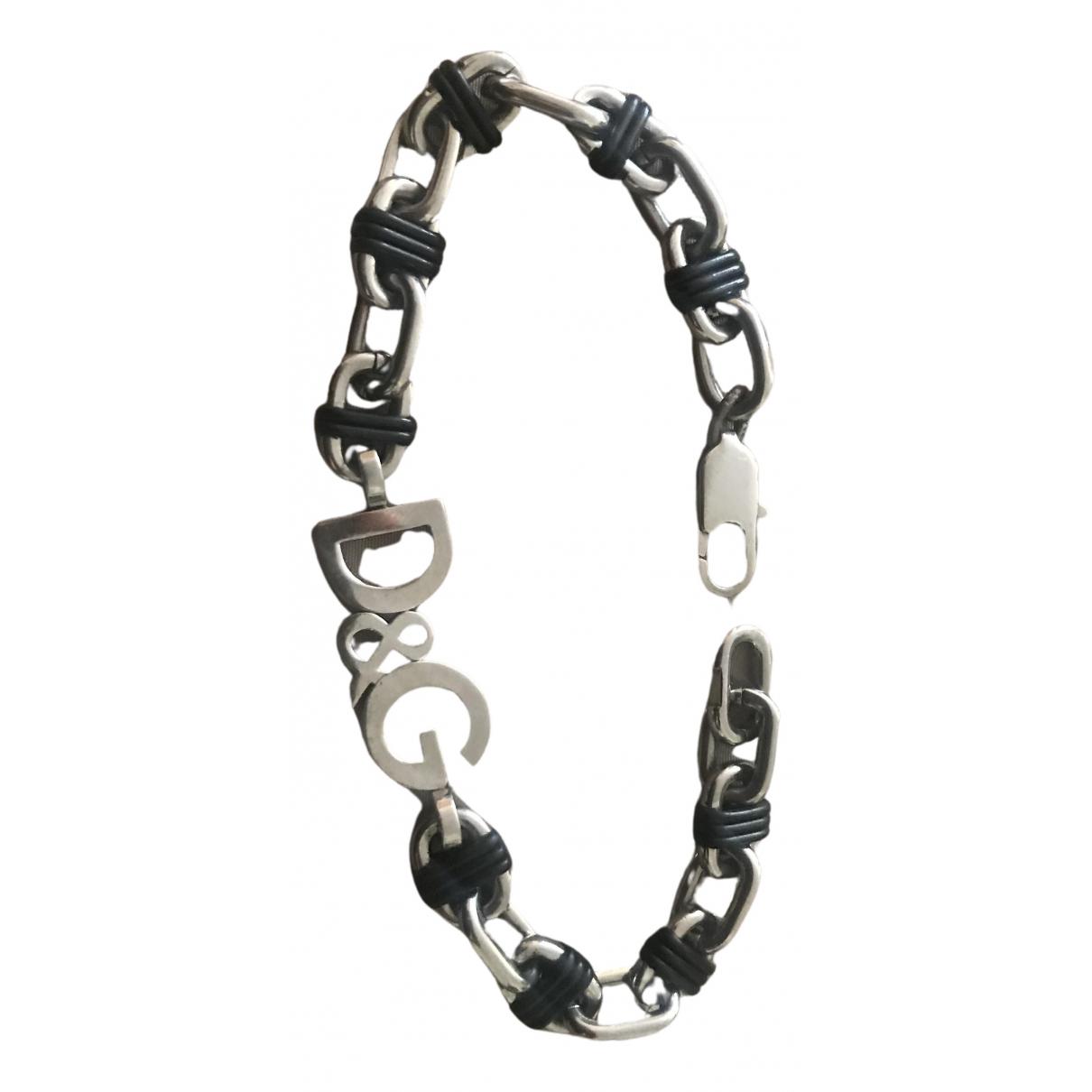 D&g \N Armband in  Schwarz Silber