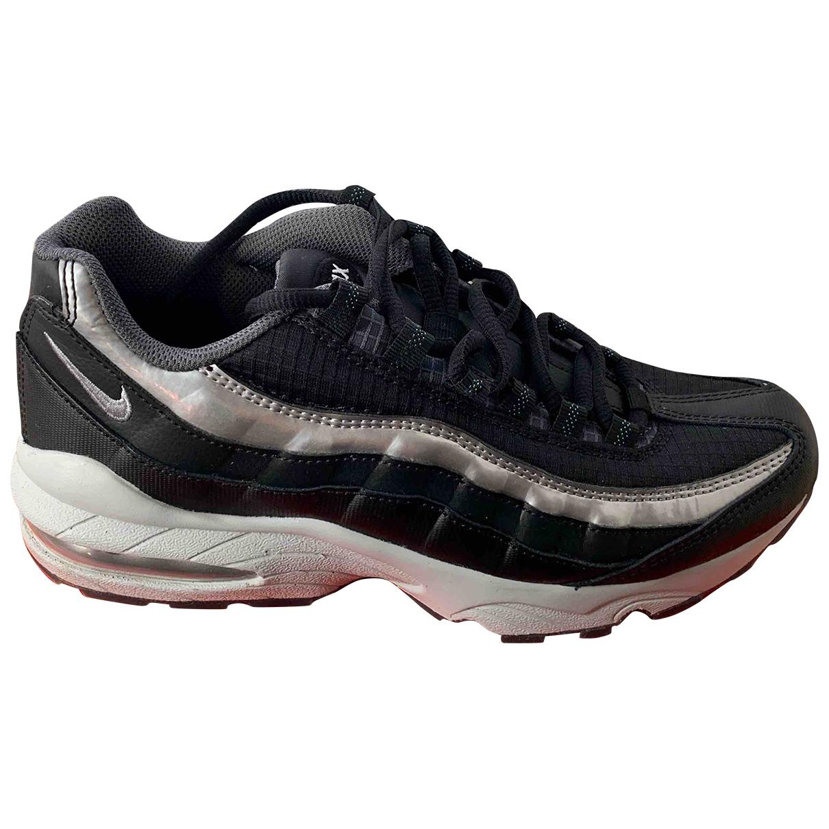 Nike - Baskets Air Max 95 pour homme en toile - noir