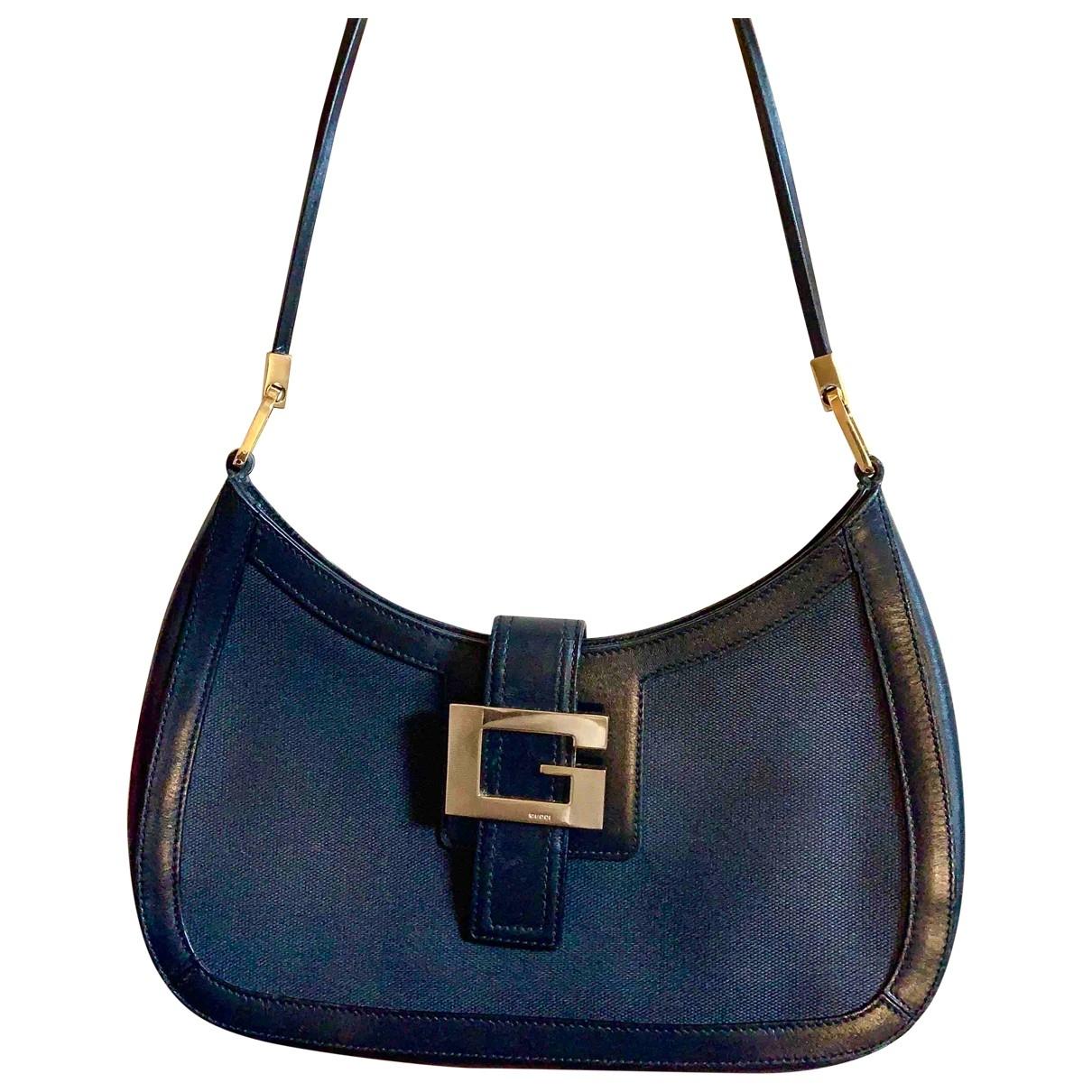 Gucci - Sac a main Hobo pour femme en cuir - noir