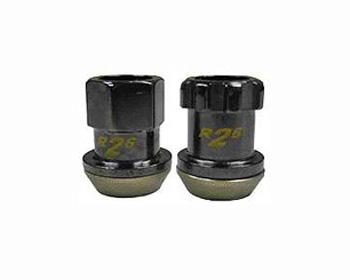 Project Kics Black R26 M12x1.50 Racing Lug Nuts