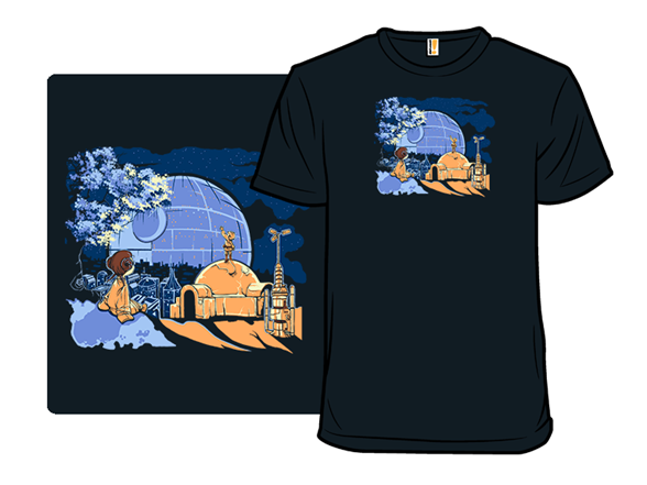 Somewhere Out There T Shirt