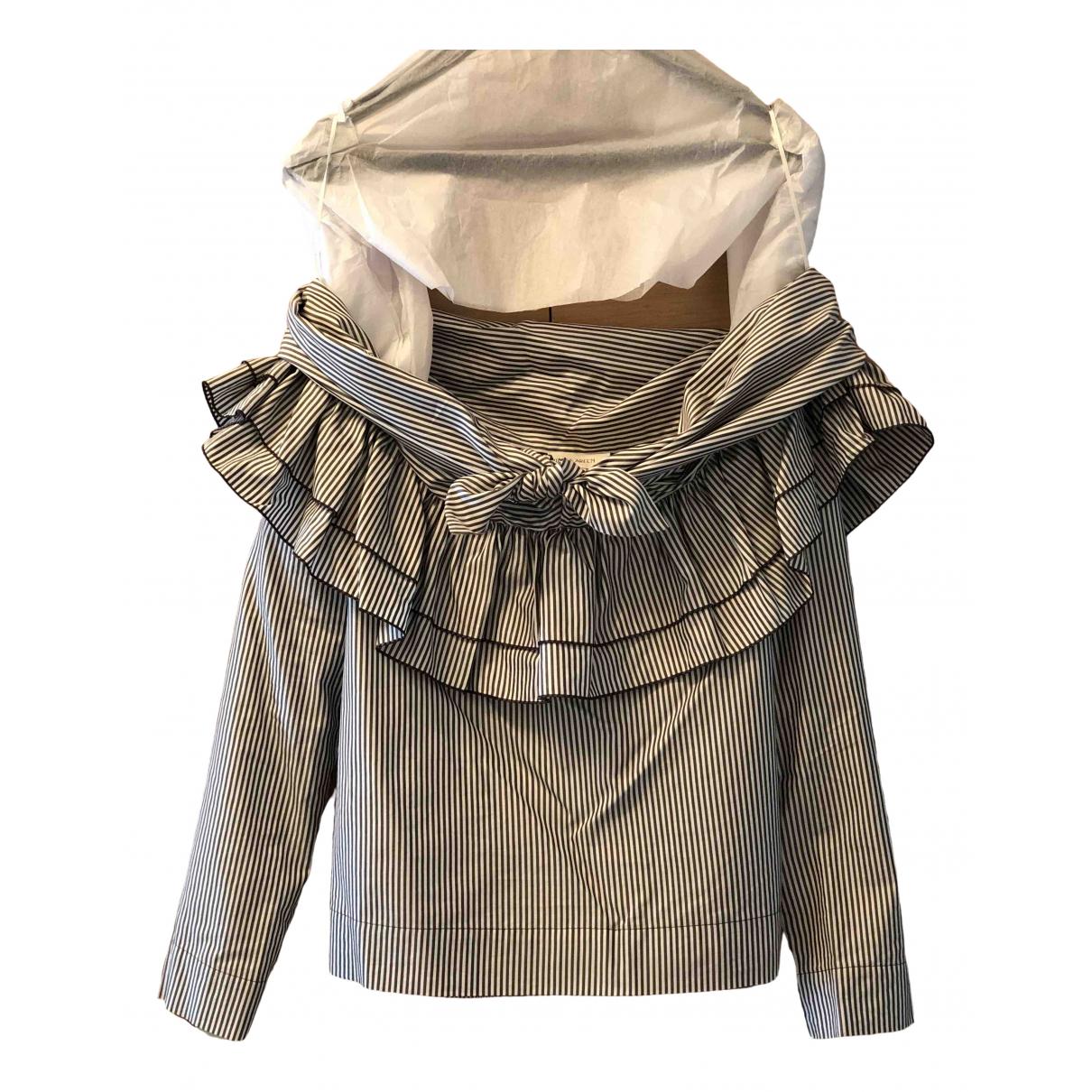 Isa Arfen \N Grey Cotton  top for Women 8 UK