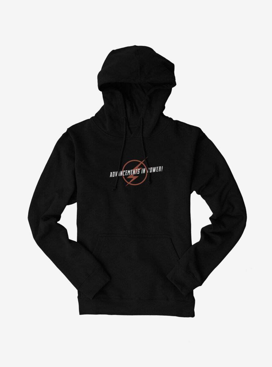 DC Comics The Flash Advancements In Power Logo Hoodie