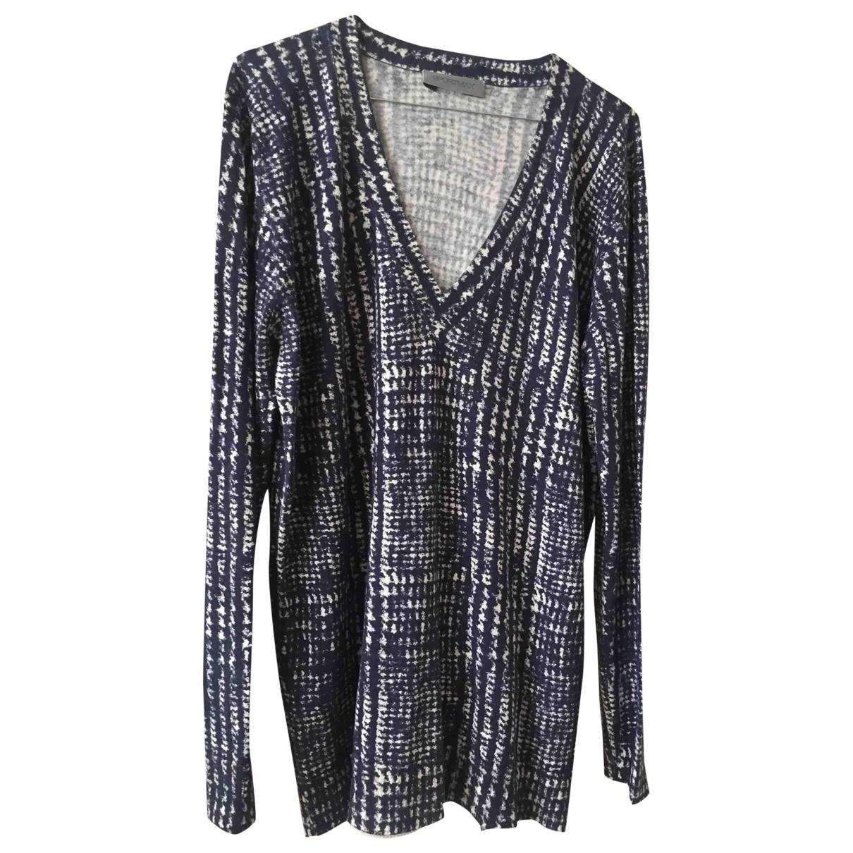 Sport Max \N Pullover in  Blau Seide